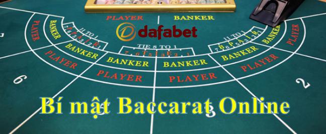 Bí mật trò chơi Baccarat Online