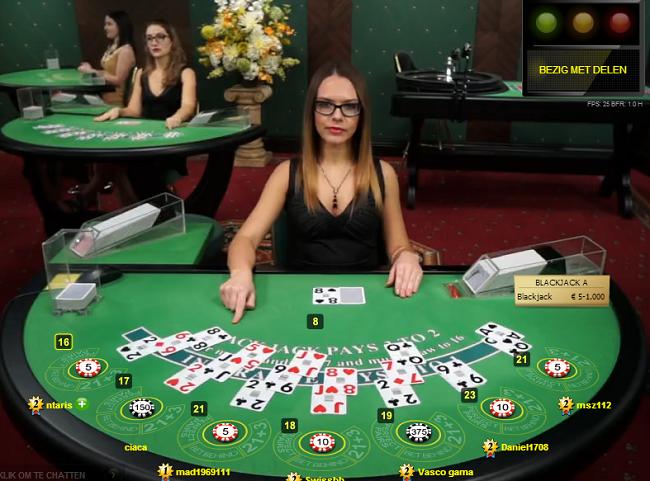 luật chơi Blackjack cơ bản